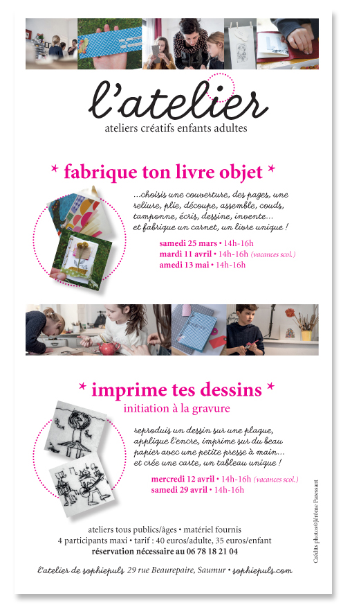 affiche ateliers mars